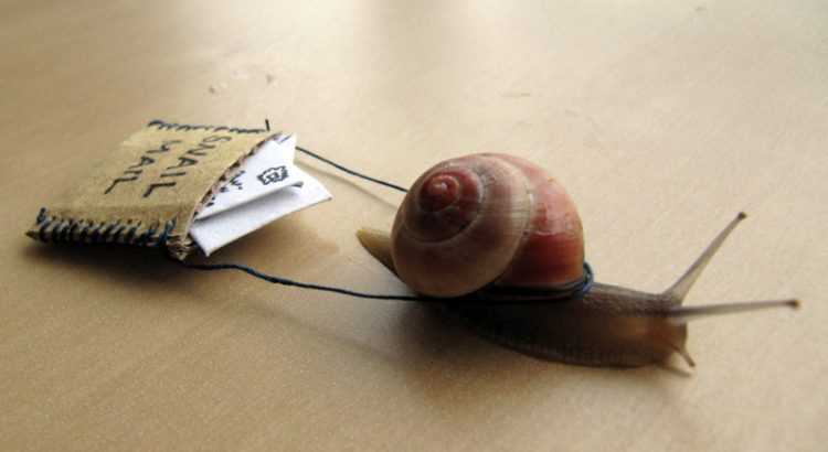 What is snail mail? ⋆ What is the meaning of